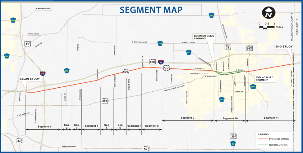 US-92/SR-600 widening map